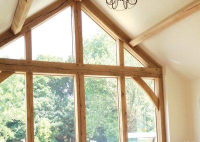 Glazed Oak Screen