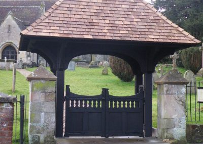 Church Lynch Oak Gate